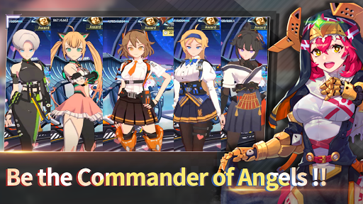 Télécharger Shelter Zero: IDLE Angel Saga apk mod screenshots 2