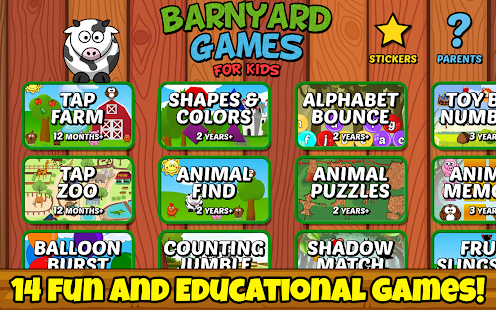 Barnyard Games For Kids Free- screenshot thumbnail