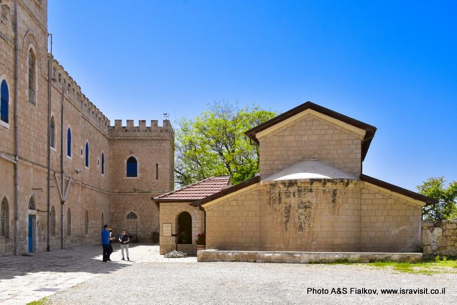 Церковь св. первомученика Стефана в монастыре Бейт Джамаль, Израиль.