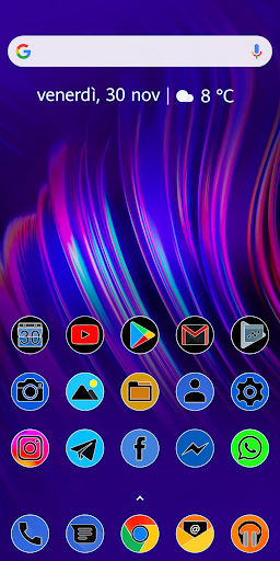 Screenshot for PIXEL FLUO - ICON PACK in United States Play Store