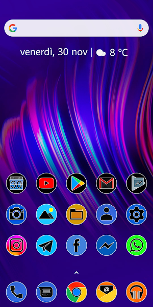 PIXEL FLUO - ICON PACK Screenshot Image