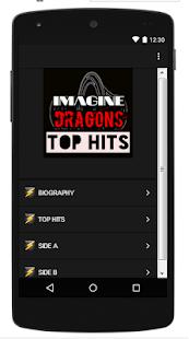 Imagine Dragons Top Song Lyrics - náhled
