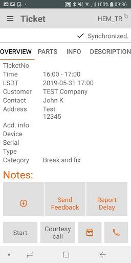 FieldService App screenshots 3