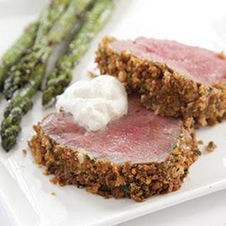 Horseradish Encrusted Beef Tenderloin