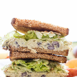 Healthy Chicken Salad Sandwich.