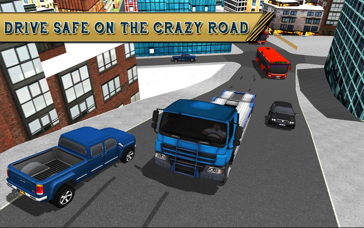 Construction simulator city truck parking game 3d for Simulation construction maison 3d