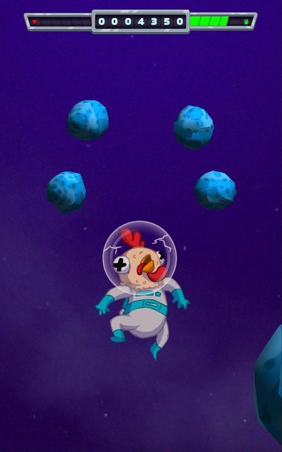Space Chicken: James T. Cluck- screenshot