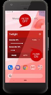 Twilight 🌅 Blue light filter for better sleep 2