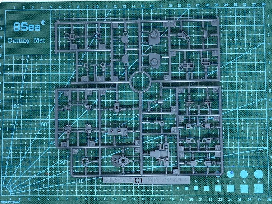 new release bandai gundam gunpla plastic model kit HG high grade premium bandai p-bandai HGUC MS-08 TX/N Efreet Nacht unboxing review