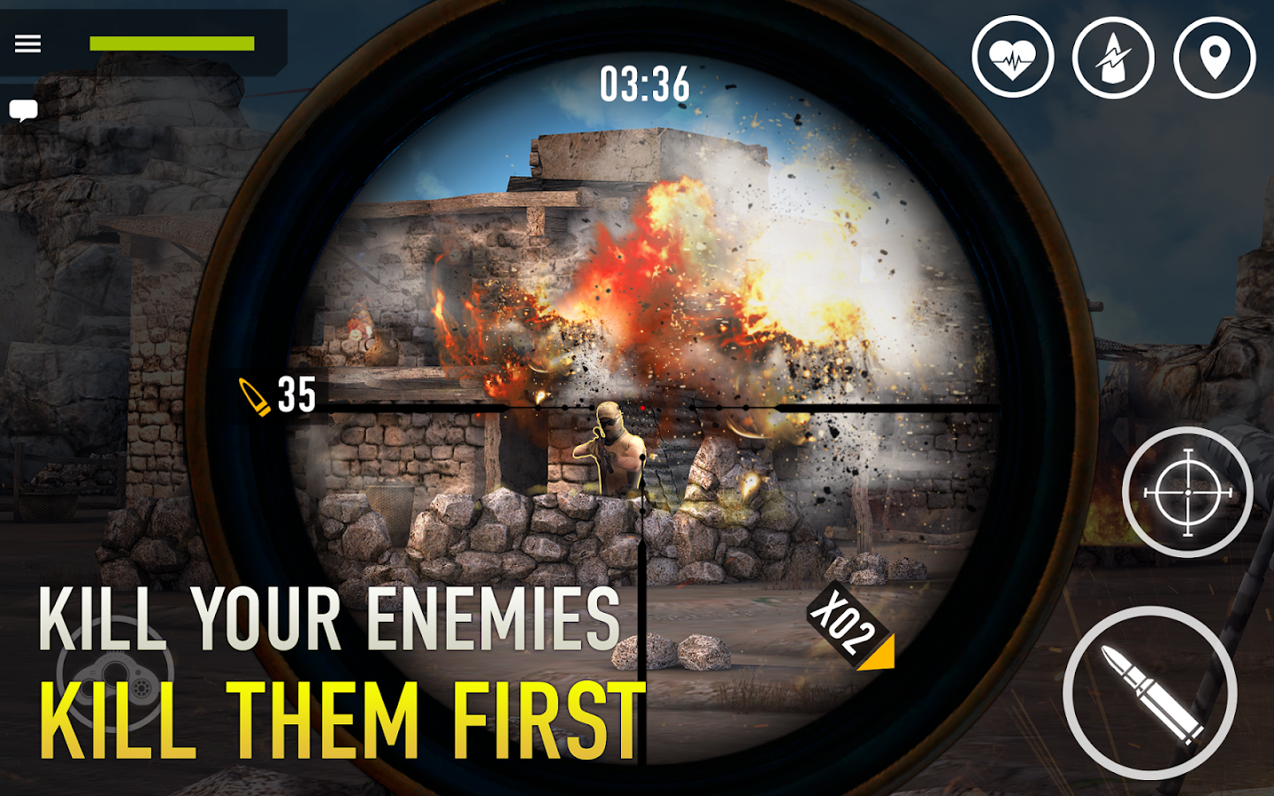 Sniper Arena: PvP Army Shooter- screenshot