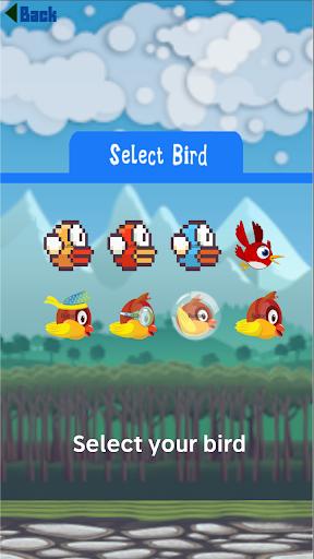 Flying Bird - Flapper Birdie Game 1.2.3 screenshots 5