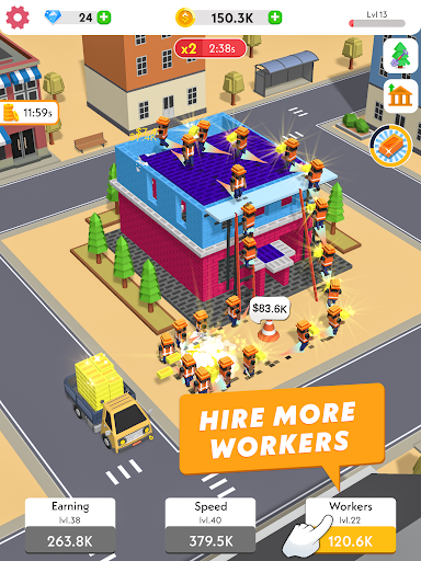 Idle Construction 3D android2mod screenshots 10