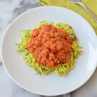 Tomato Zucchini Lentils Recipes.