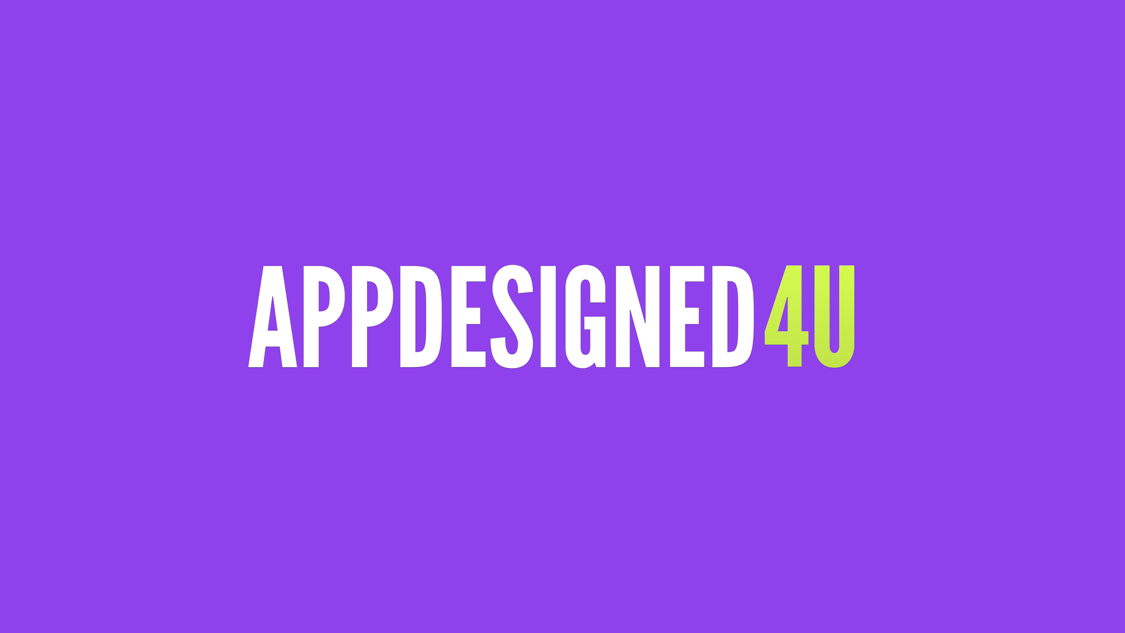 Appdesigned4u