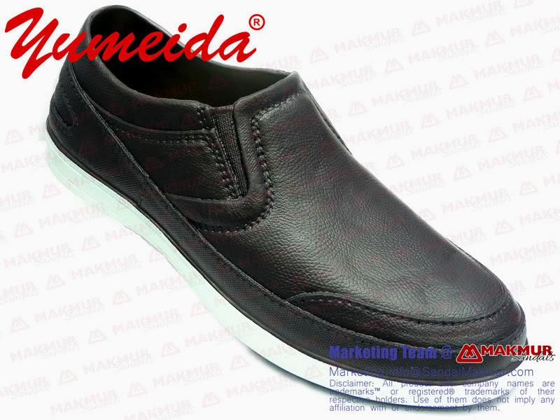 Sepatu Pria Yumeida 7091 Dark Brown