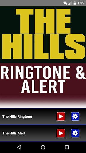 The Hills Ringtone and Alert