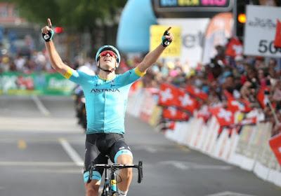 Fuglsang wint na sterke prestatie lastige rit in Tirreno, Yates blijft leider