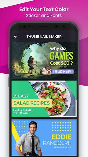 Ultimate Thumbnail Maker: thumbnail design 1.4.3 screenshots 1