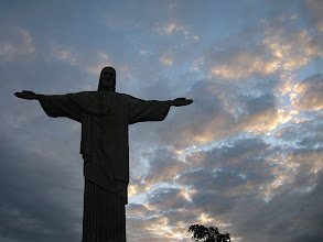 Photo: Corcovado in the twilight