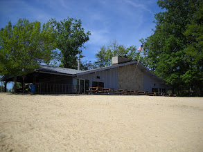 Photo: The RRA Clubhouse from the Beach