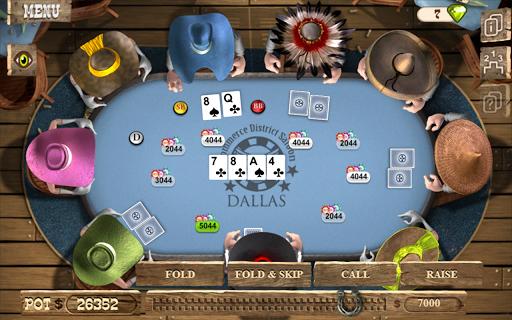 Online poker final table