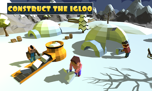 New City Builder Construction: Craft Design IGLOO - náhled