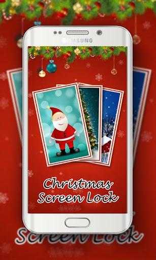 Happy Christmas Screen Lock
