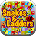 Snakes Ladders 3D icon