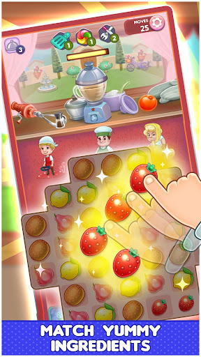 Fantastic Chefs: Match 'n Cook  {cheat|hack|gameplay|apk mod|resources generator} 1
