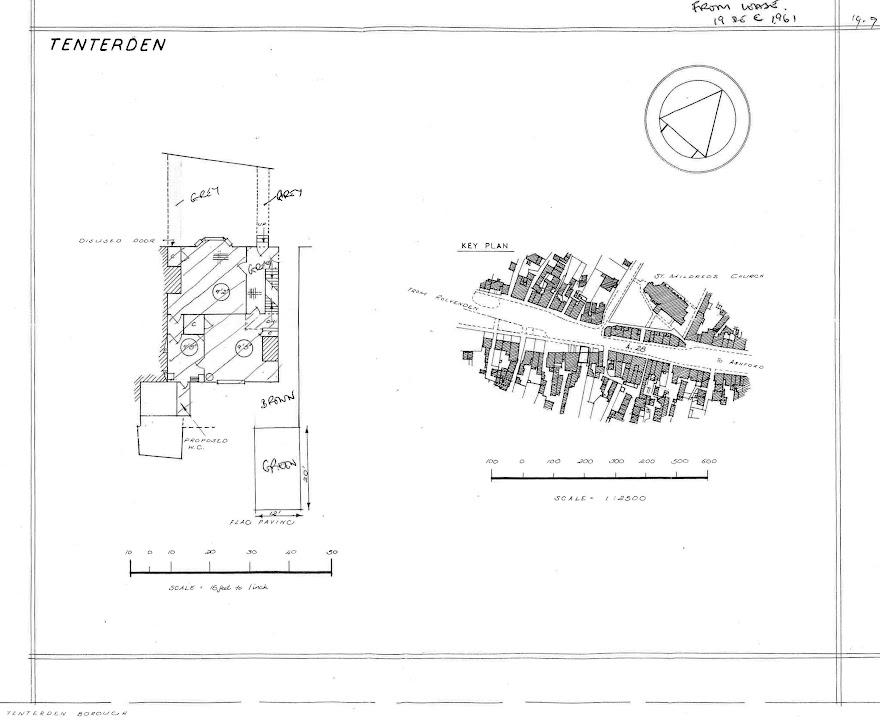 The Pebbles Plan 1961 Tenterden