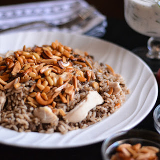 Lebanese Rice with Chicken.