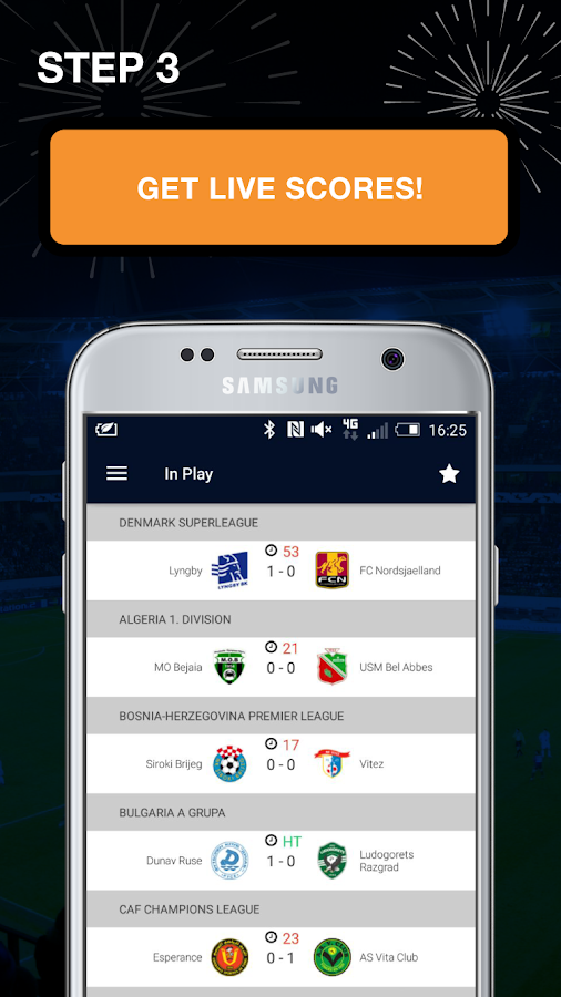 Live Football Stats and Scores- screenshot