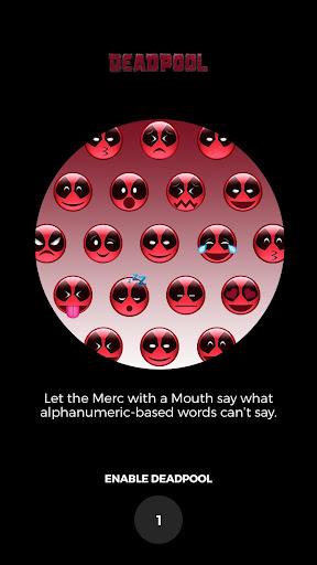 DEADPOOL Movie Emojis