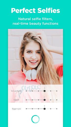 Candy Camera - selfie, beauty camera, photo editor 4.47 screenshots 4