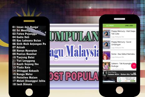 Lagu Malaysia Paling Populer - náhled