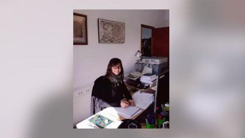 Gema Embi, nueva directora de la Alcazaba, en una imagen de archivo.