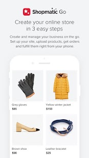 Shopmatic Go - Sell Online- screenshot thumbnail