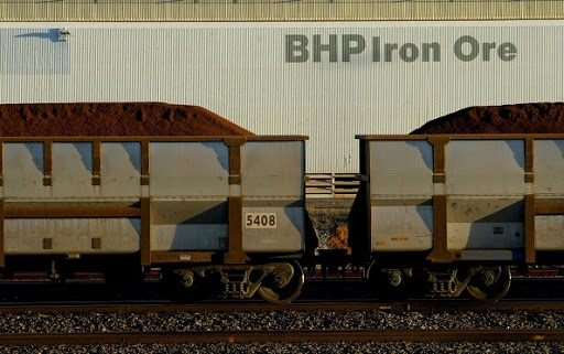 BHP's shares fall as it counts the cost of tropical cyclone