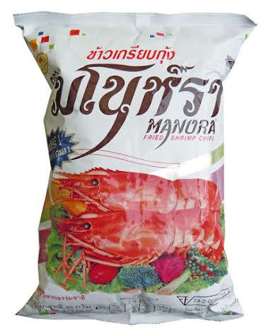 Shrimp Chips 75 g Manora