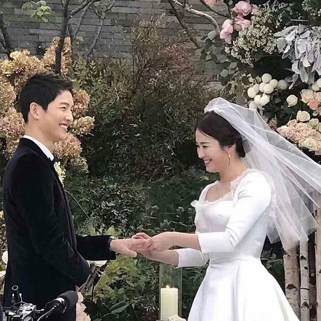 He Ended His Vows By Revealing How Much Song Hye Kyo Means To Him