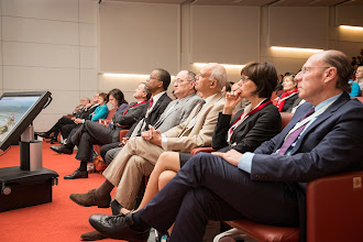 Photo: Opening Ceremony: An attentive audience