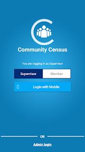 Community Census - náhled