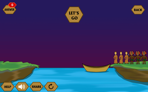 River Crossing IQ - IQ Test 1.4.4 screenshots 2