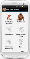 screenshot of Best Chest Workout