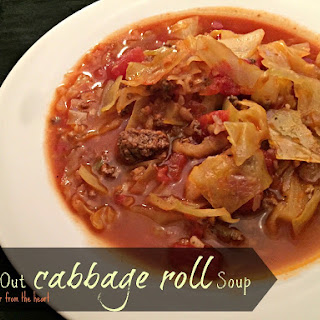 Inside Out Cabbage Roll Soup