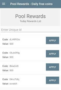 Pool Rewards – Daily Free Coins App Download For Android 7