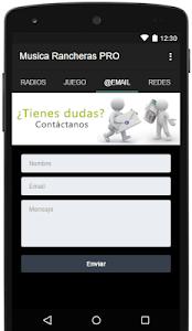 Musica Rancheras PRO screenshot 2