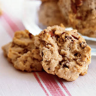 Oatmeal, Chocolate Chip, and Pecan Cookies.