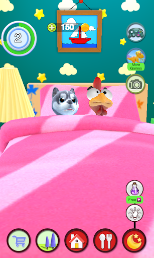 Talking Puppy And Chick 1.29 screenshots 8