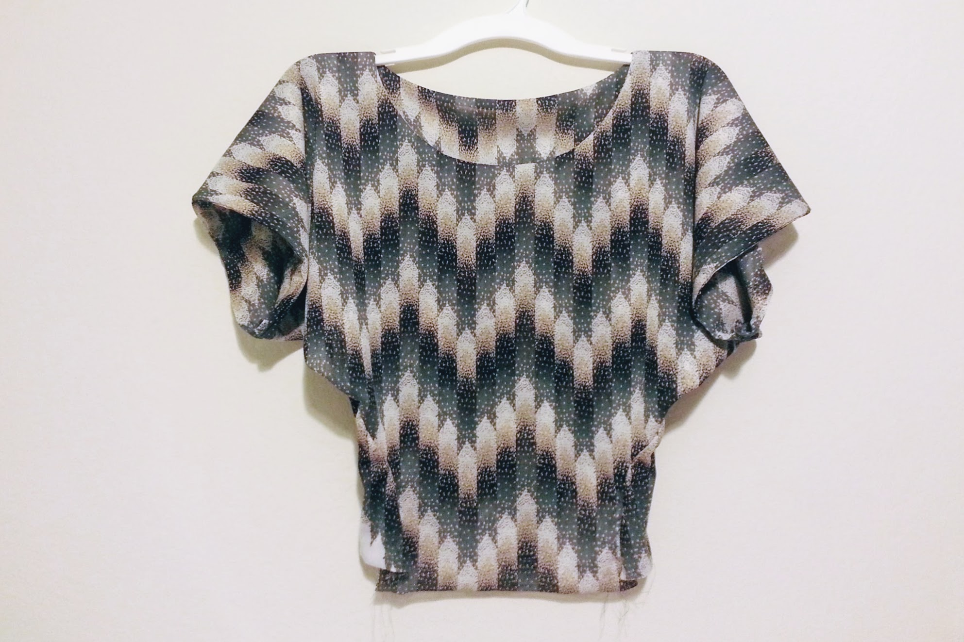 Top part done: High-Low Circle Skirt Dress - DIY Fashion Garments | fafafoom.com